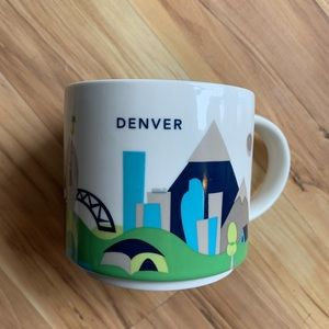 Starbucks Wish You Were Here Denver Mug